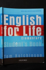 náhled knihy - English for Life. Elementary Student´s Book