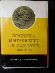 náhled knihy - Ročenka Univerzity Jana Evangelisty Purkyně 1968-1975