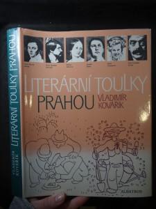 náhled knihy - Literární toulky Prahou