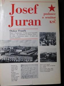 náhled knihy - Josef Juran, poslanec a senátor KSČ