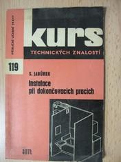 náhled knihy - Instalace při dokončovacích pracích