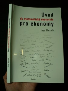 náhled knihy - Úvod do matematické ekonomie pro ekonomy