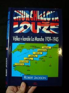 náhled knihy - Churchillova louže : válka v kanále La Manche 1939-1945