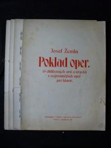 náhled knihy - Poklad oper 48 oblíbených arií a úryvků z nejznámějších oper pro klavír
