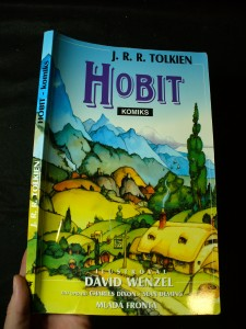 náhled knihy - Hobit, aneb, Cesta tam a zase zpátky : [komiks]