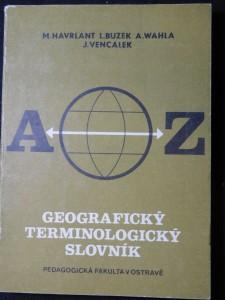 náhled knihy - Geografický terminologický slovník : A-Z