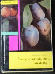 náhled knihy - Švestky, renklody, slívy, mirabelky