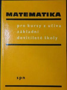 náhled knihy - Matematika pro kursy z učiva základní devítileté školy