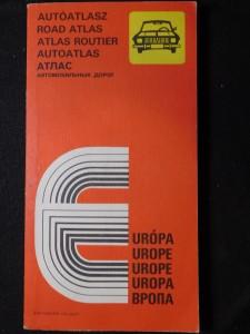 náhled knihy - Autóatlasz Európa