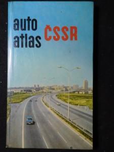 náhled knihy - Autoatlas ČSSR 1 : 400 000