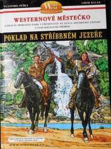 náhled knihy - Westernové městečko Poklad na stříbrném jezeře