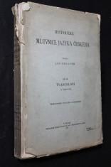 náhled knihy - Historická mluvnice jazyka českého. Díl III., Tvarosloví. II., Časování