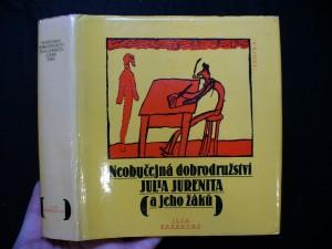 náhled knihy - Neobyčejná dobrodružství Julia Jurenita a jeho žáků