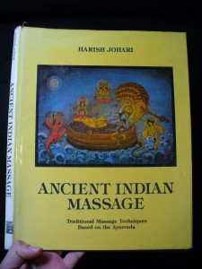 náhled knihy - Ancient indian massage