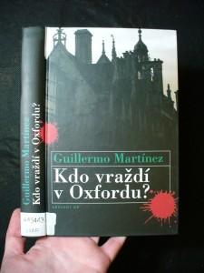 náhled knihy - Kdo vraždí v Oxfordu?