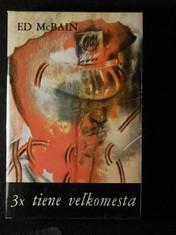 náhled knihy - 3x tiene veľkomesta