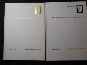 náhled knihy - 90 stálého českého českého divadla v Brně 1884-1974 almanach I a II