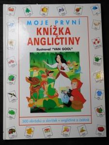náhled knihy - Moje první knížka angličtiny : 500 obrázků a slovíček v angličtině a češtině