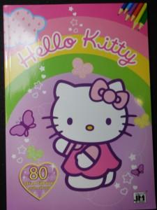 náhled knihy - Hello Kitty Omalovánky