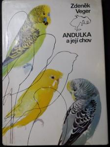 náhled knihy - Andulka a její chov : (Papoušek vlnkovaný)