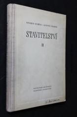 náhled knihy - Stavitelství. Díl II.