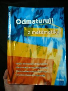 náhled knihy - Odmaturuj! z matematiky