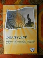 náhled knihy - Dopisy Janě : publikace s informacemi pro všechny lidi pečující o osoby s mentálním postižením
