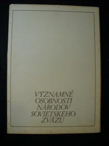 náhled knihy - Významné osobnosti národov Sovietského zvazu