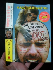 náhled knihy - The further adventures of an idiot abroad