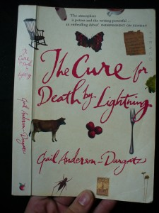 náhled knihy - The cure for Death by Lighting