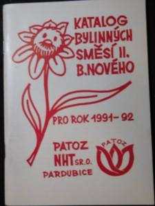 náhled knihy - Katalog bylinných směsí léčitele pana B. Nového pro rok-. Sv. 2, 1991