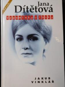 náhled knihy - Jana Dítětová : vzpomínky z lásky