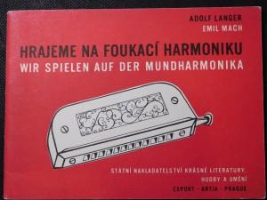 náhled knihy - Hrajeme na foukací harmoniku instruktivní příručka pro hru na jednorejstříkovou harmoniku = Wir spielen auf der Mundharmonika : instruktive Broschüre für das Spiel auf der Chromonika mit einem Register