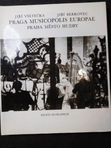 náhled knihy - Praga Musicopolis Europae = Praha - město hudby = Praga - gorod muzyki = Musikstadt Prag = Prague City of Music : [fot. publ.]