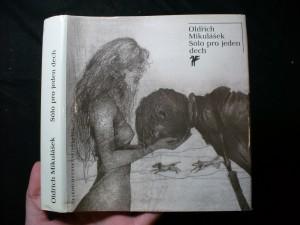 náhled knihy - Sólo pro jeden dech : výbor z poezie