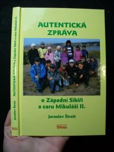 náhled knihy - Autentická zpráva o Západní Sibiři a caru Mikuláši II.