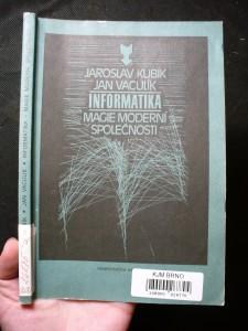náhled knihy - Informatika - magie moderní společnosti