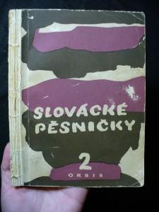 náhled knihy - Slovácké pěsničky. 2 sbírka jednohlasých lidových písní