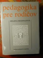 náhled knihy - Pedagogika pre rodičov