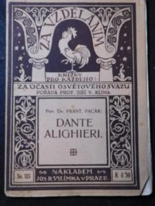 náhled knihy - Dante Alighieri : život a dílo