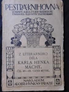 náhled knihy - Z literárního díla Karla Hynka Máchy
