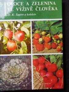 náhled knihy - Ovoce a zelenina ve výživě člověka