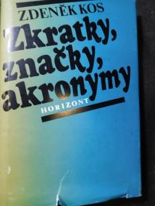 náhled knihy - Zkratky, značky, akronymy