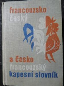 náhled knihy - Kapesní slovník francouzsko-český a česko-francouzský