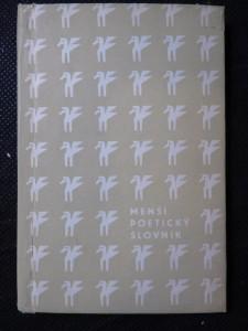 náhled knihy - Menší poetický slovník