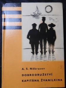 náhled knihy - Dobrodružství kapitána Žvanilkina