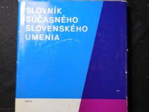 náhled knihy - Slovník súčasného slovenského umenia