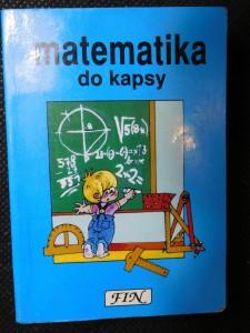 náhled knihy - Matematika do kapsy