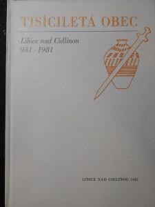 náhled knihy - Tisícileté obec- Libice nad Cidlinou 981-1981