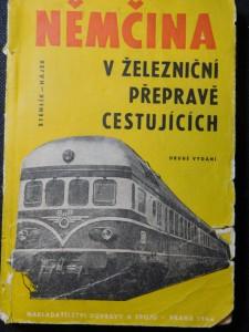 náhled knihy - Němčina v železniční přepravě cestujících